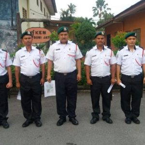 Nepalese Security Guards 2